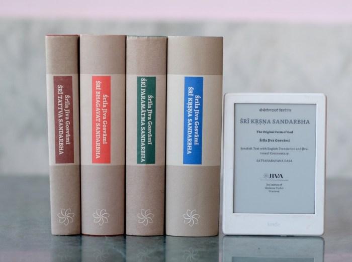 eBook: Tattva & Bhagavat & Paramatma & Krishna Sandarbha