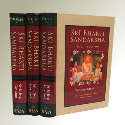 Bhakti Sandarbha, Volume I-II & III together only - (For USA Additional Shipment Charge)