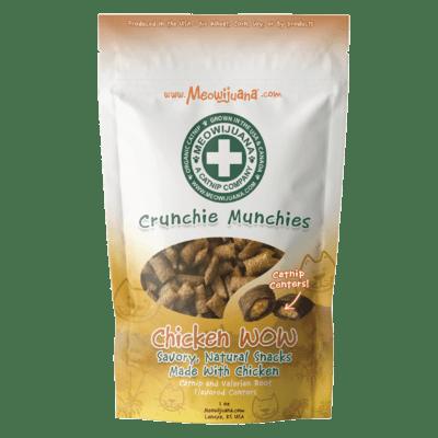 Meowijuana Crucnchie Munchie Cat Treats Chicken