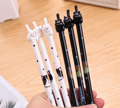 Cat Gel Pen