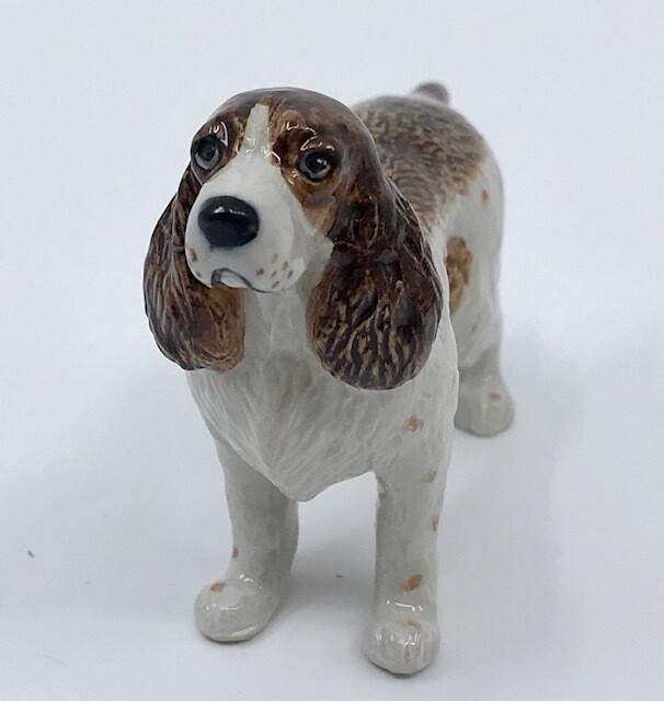 Springer Spaniel Miniature Porcelain Dog