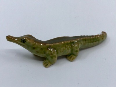 Alligator Miniature Porcelain