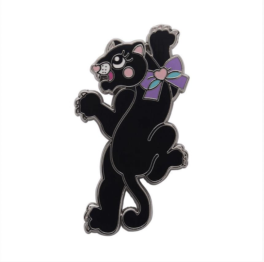 Panther Enchanter Enamel Pin by Erstwilder