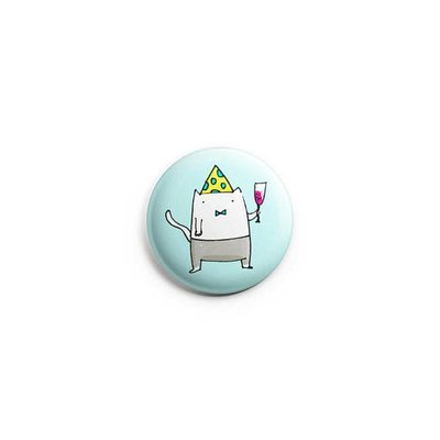 MCIP - Party Cat Badge