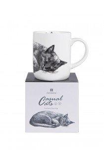 Cats Sleeping Mug by Ashdene
