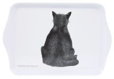 Cat Watching Sandwich Tray by Ashdene