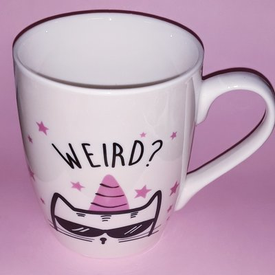 Weird is a Side Effect of Awesome Mug