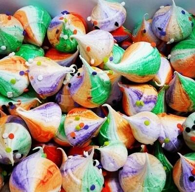 HALLOWEEN Meringues 2 dozen