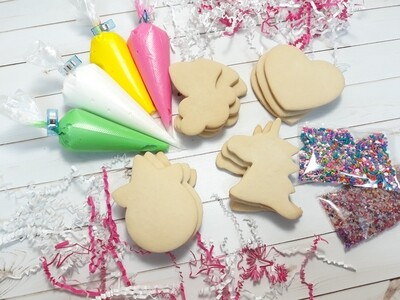 Unicorn Cookie Decorating Kits
