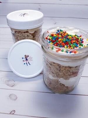 Cake Jars (half dozen)