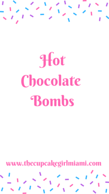 Hot Chocolate Bomb Truffles
