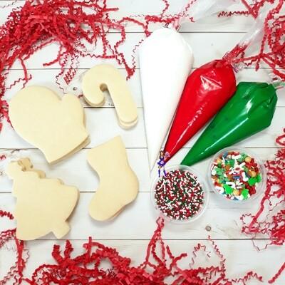 Christmas Cookie Decorating Kits DIY COOKIE KITS
