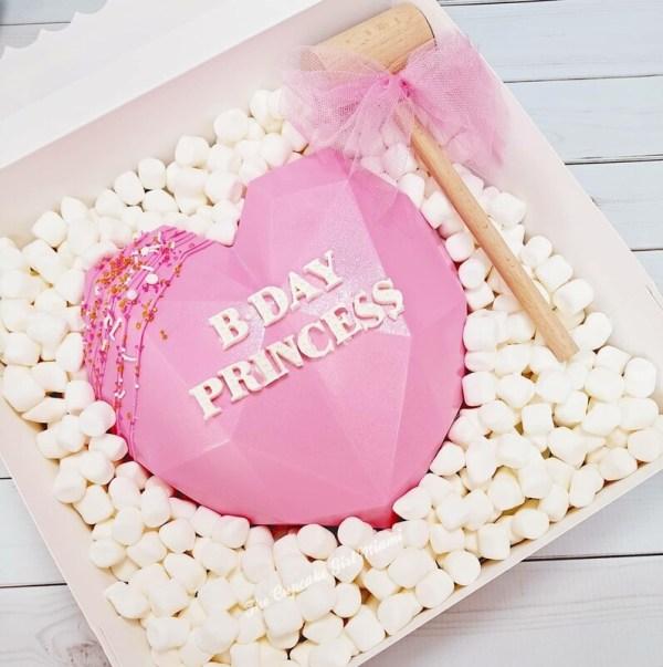 Breakable Heart Chocolate Heart