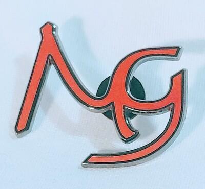 Manifold Guitars Enamel Logo Pin