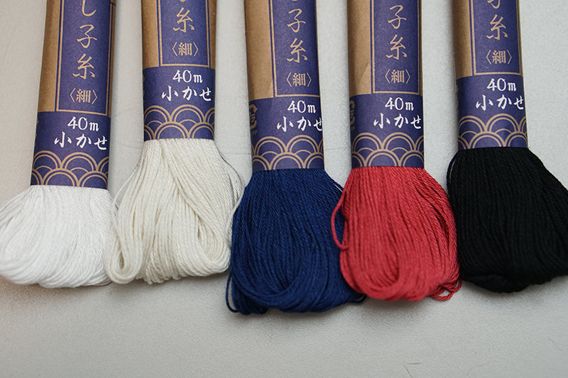 Daruma Sashiko Thread |  Mono Color by Yokota