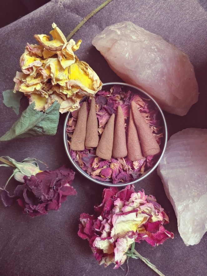 Rose Incense