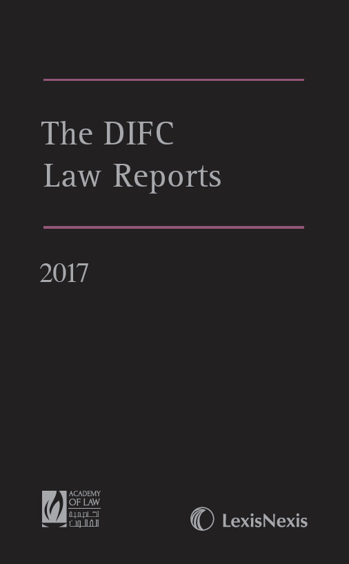 The DIFC Law Reports - 2017
