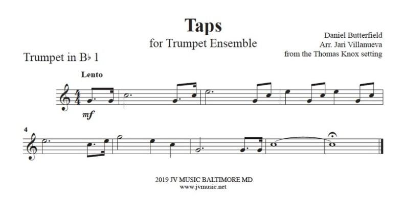 Taps for Trumpet Ensemble