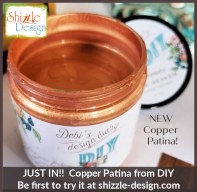 Copper Patina - 8 oz - Pennies from Heaven by DIY Paint (more on the way)