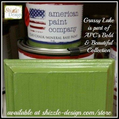 Grassy Lake - LOVE this green!