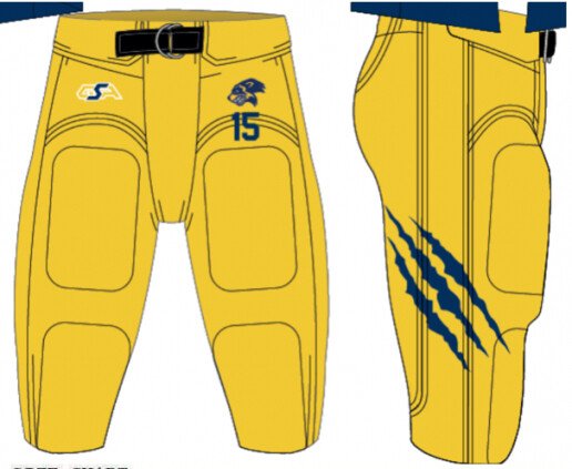 Home Game Day Personalised Pants