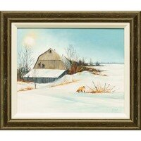 Old Snohomish Barn -- Lois Haskell