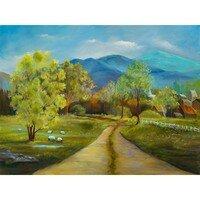 Spring Farm -- Lois Haskell