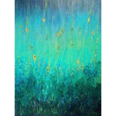 Dance of Green & Blue -- Marne Jensen