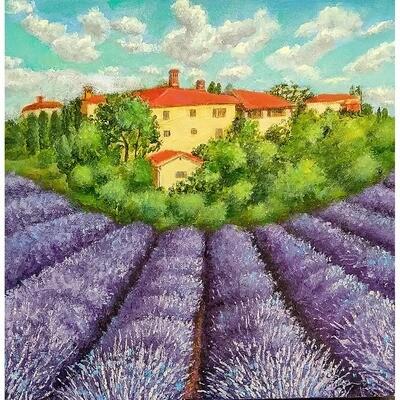 Tuscany Lavender -- Leanna Leitzke