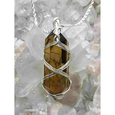Carole Weaks - Double Pointed Citrine Crystal