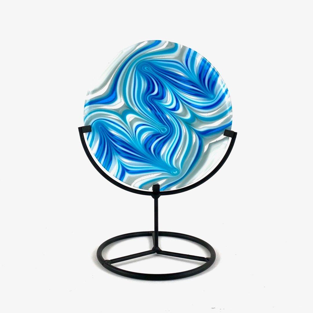 Aqua Swirl -- Joel and Lori Soderberg