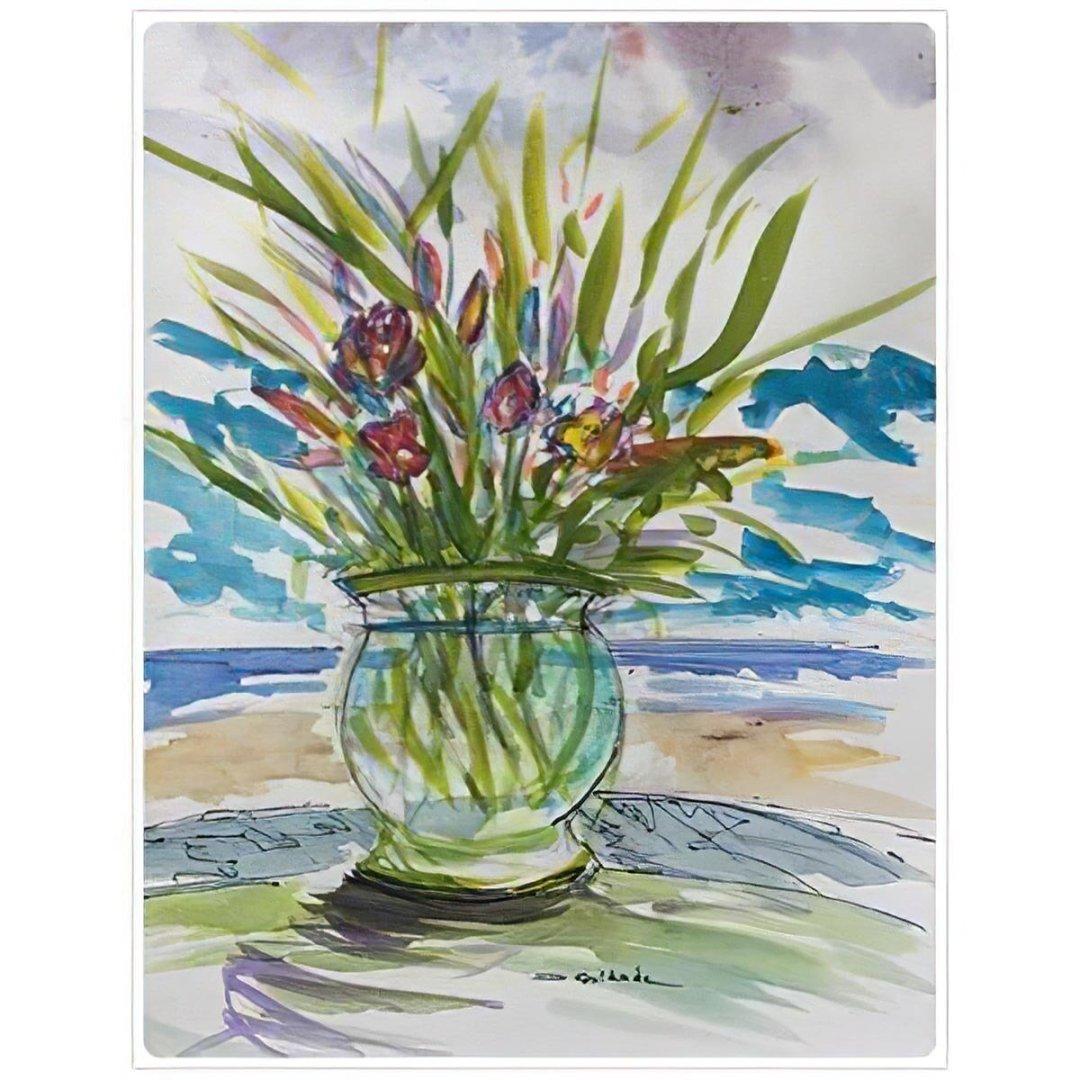 Bowl of Tulips -- Forrest Goldade