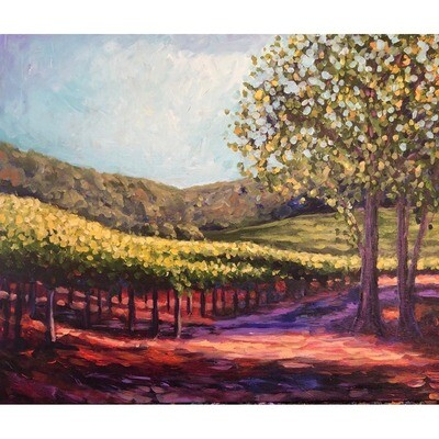 Vineyard Walk -- Heidi Barnett