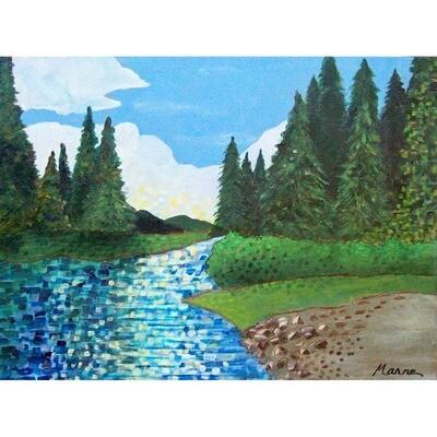 Sparkling Water -- Marne Jensen