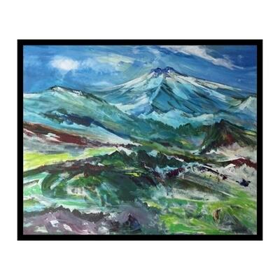 High Mountain Grazing, Big Island -- Forrest Goldade