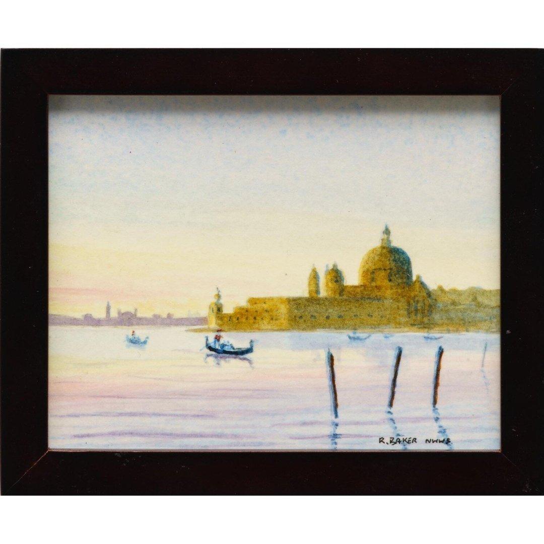 Baker, Roger -- Salute Sunset, Venice