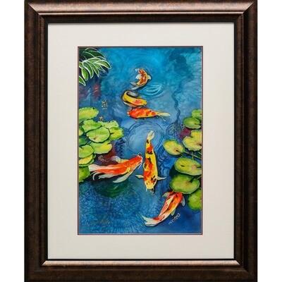 The Koi Pond -- Ginger Carter