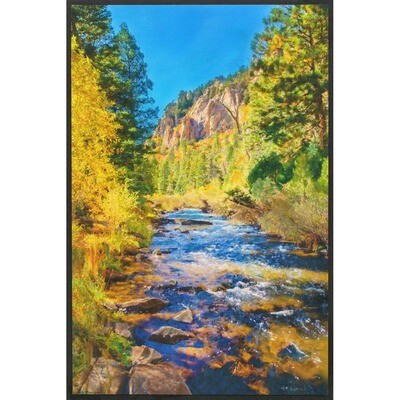 A River in Early Fall -- Lisa Marie Kostal