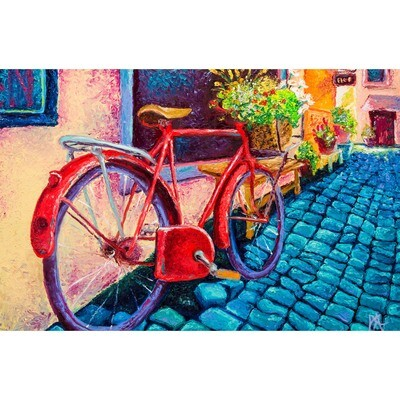 Cobblestone Alley -- Kimberly Adams