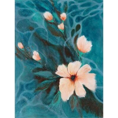 White Petals -- Hilda Bordianu