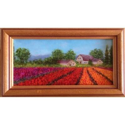Tulip Field -- Hilda Bordianu