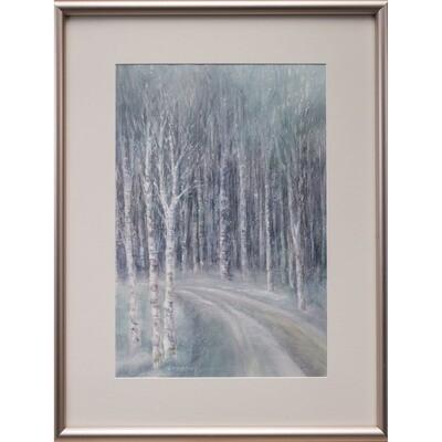 Winter Aspen -- Nancy R Bradley