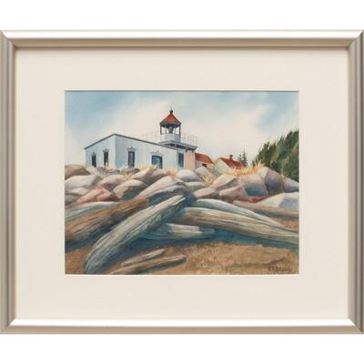 Point No Point Lighthouse -- Nancy R Bradley