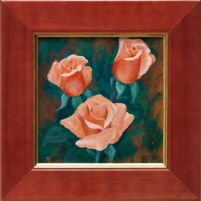 Roses for You -- Hilda Bordianu