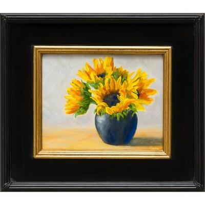 Sunflowers in Sugar Bowl -- Corina Linden