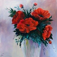 Poppies VIII -- Lois Haskell