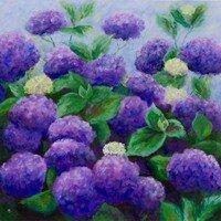 Purple Magic -- Hilda Bordianu