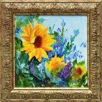 Sunflower -- Lois Haskell