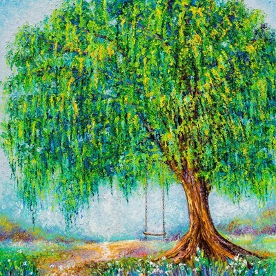 Under the Willow Tree -- Kimberly Adams