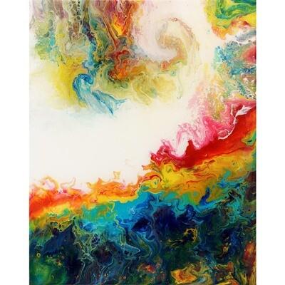 Rainbow Wave -- Piyush Arora